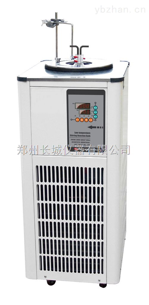 槽盖口径可调节低温恒温搅拌反应浴DHJF-8002
