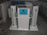 石家庄污水处理装置HTF-200小型二氧化氯发生器原理流程