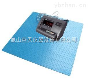 耀華1.2m×1.2m防腐電子地磅,1.2m×1.2m電子磅稱如何校正