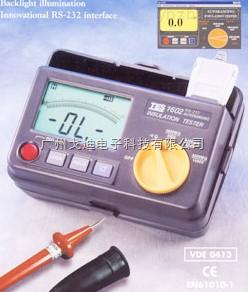 TES1602-绝缘测试仪(RS232)(兆欧表)TES-1602
