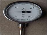 WSS-515,WSS-516径向型双金属温度计卡套法兰双金属温度计
