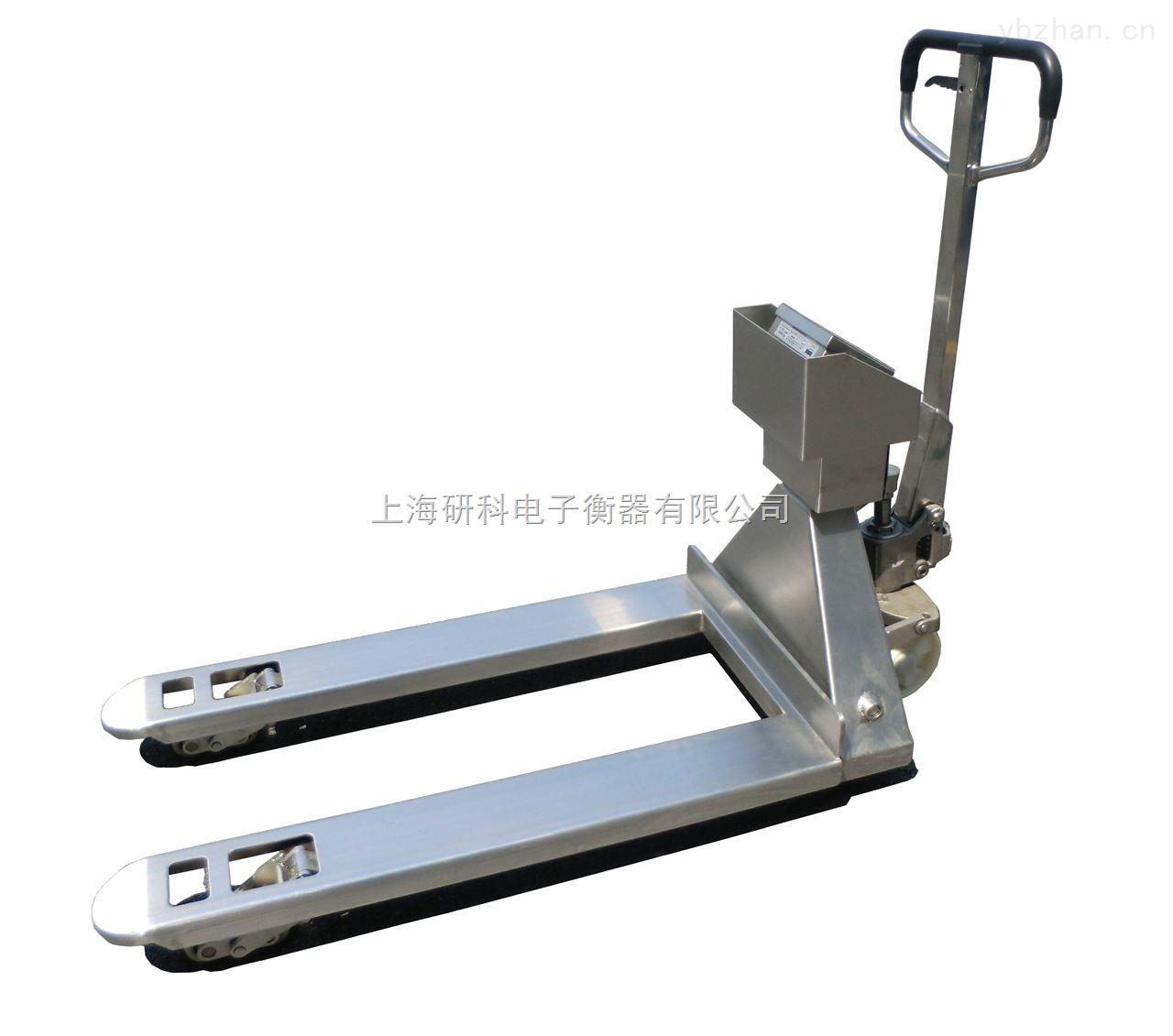 重庆2.5吨不锈钢叉车秤
