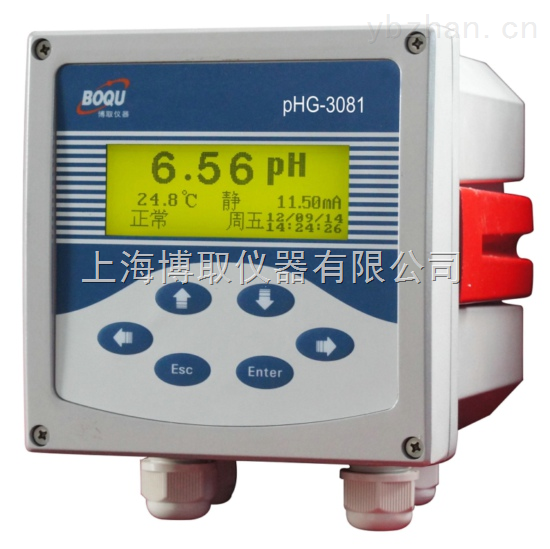 内PH计生产厂家,上海天津在线酸度计价格