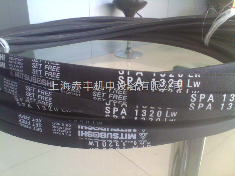 供应进口SPA1307LW耐高温三角带空调机皮带防静电三角带