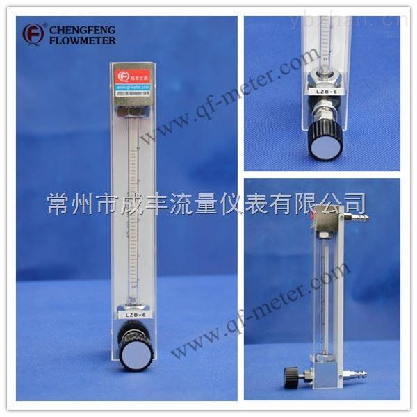 玻璃转子流量计的【常州成丰】超高性价比 面板式安装 皮管接头 安全稳定