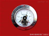 直接式电接点压力表( 轴向带边型)