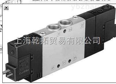 FESTO电磁阀型号,VUVG-L10-P53E-ZT-M7-1P3