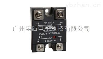 英国库顿KUDOM KSJ200系列单相直流固态繼電器