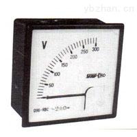 Q96-RBC交流表电压表-上海自动化仪表船用仪表厂