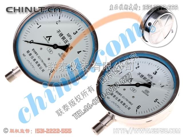 Y-150B-FZ 耐震不锈钢压力表