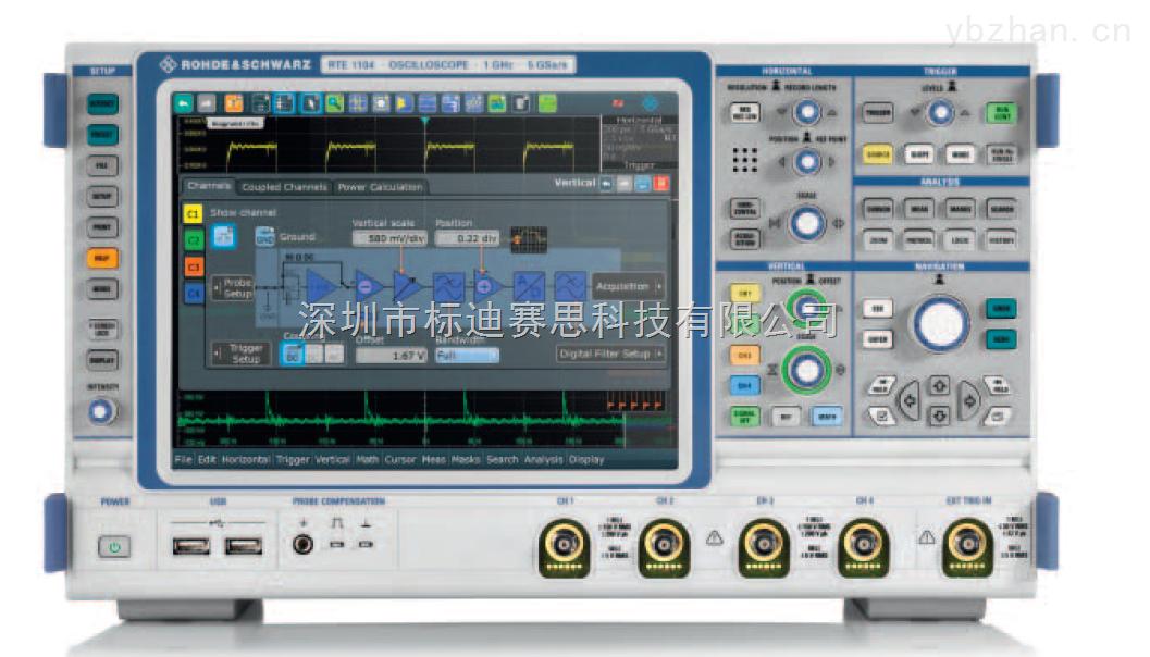 频谱示波器RTE1104