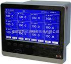 NHR-8100B蓝屏无纸记录仪,12路单色无纸记录仪