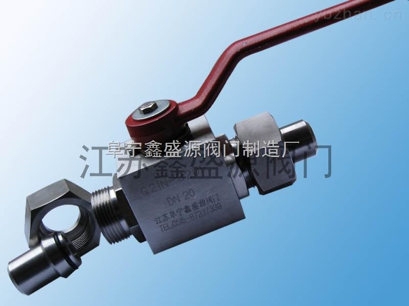 CNG天然气高压球阀加气站专用