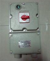 BLK52-63/3P防爆断路器,防爆负荷开关报价