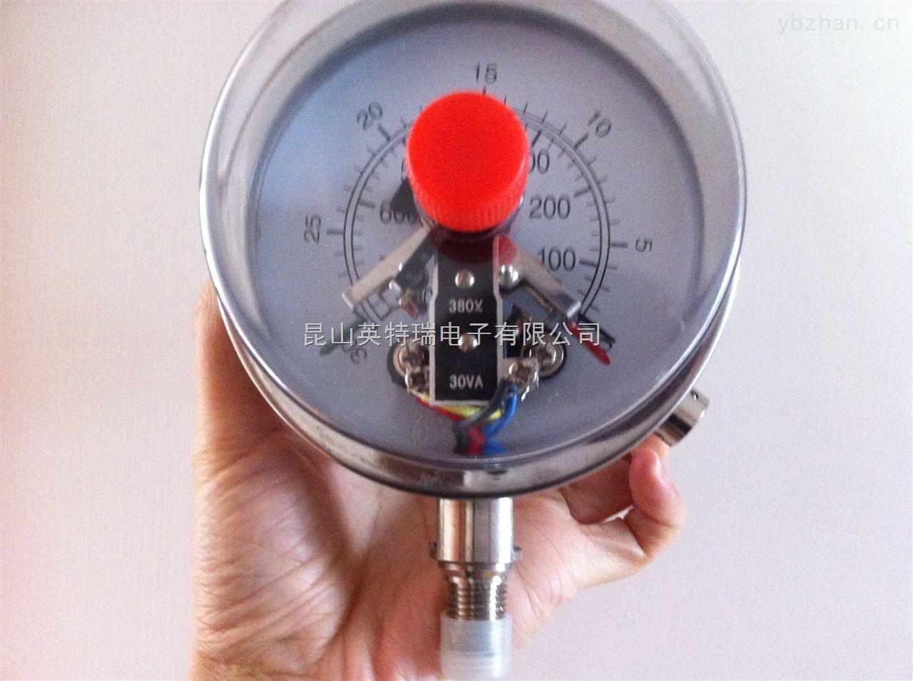 YNXC-100-磁助式电接点压力表