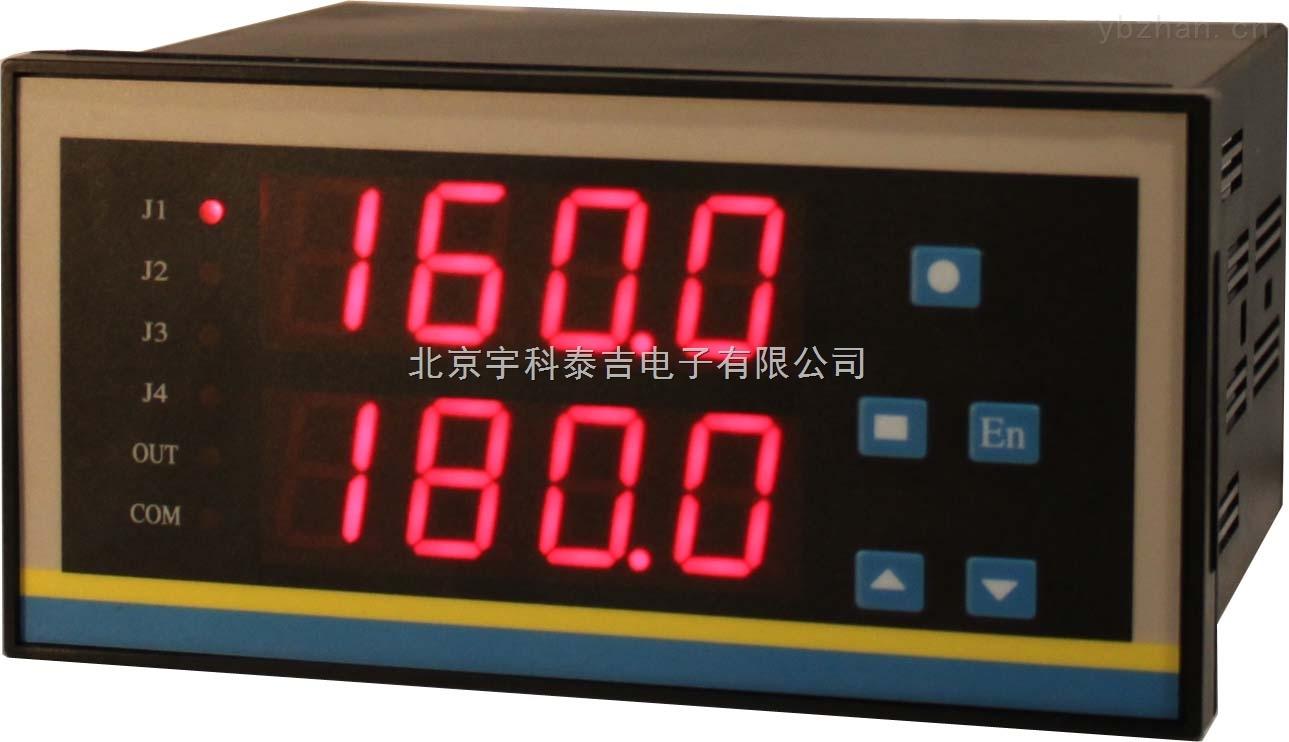 YK-32系列,智能双路直流毫伏电压表,量程0-1000.0mv,继电器报警