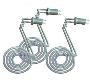 1)铁氟龙电加热器选用优质的不锈钢(sus316或sus304)电热管内芯,外套