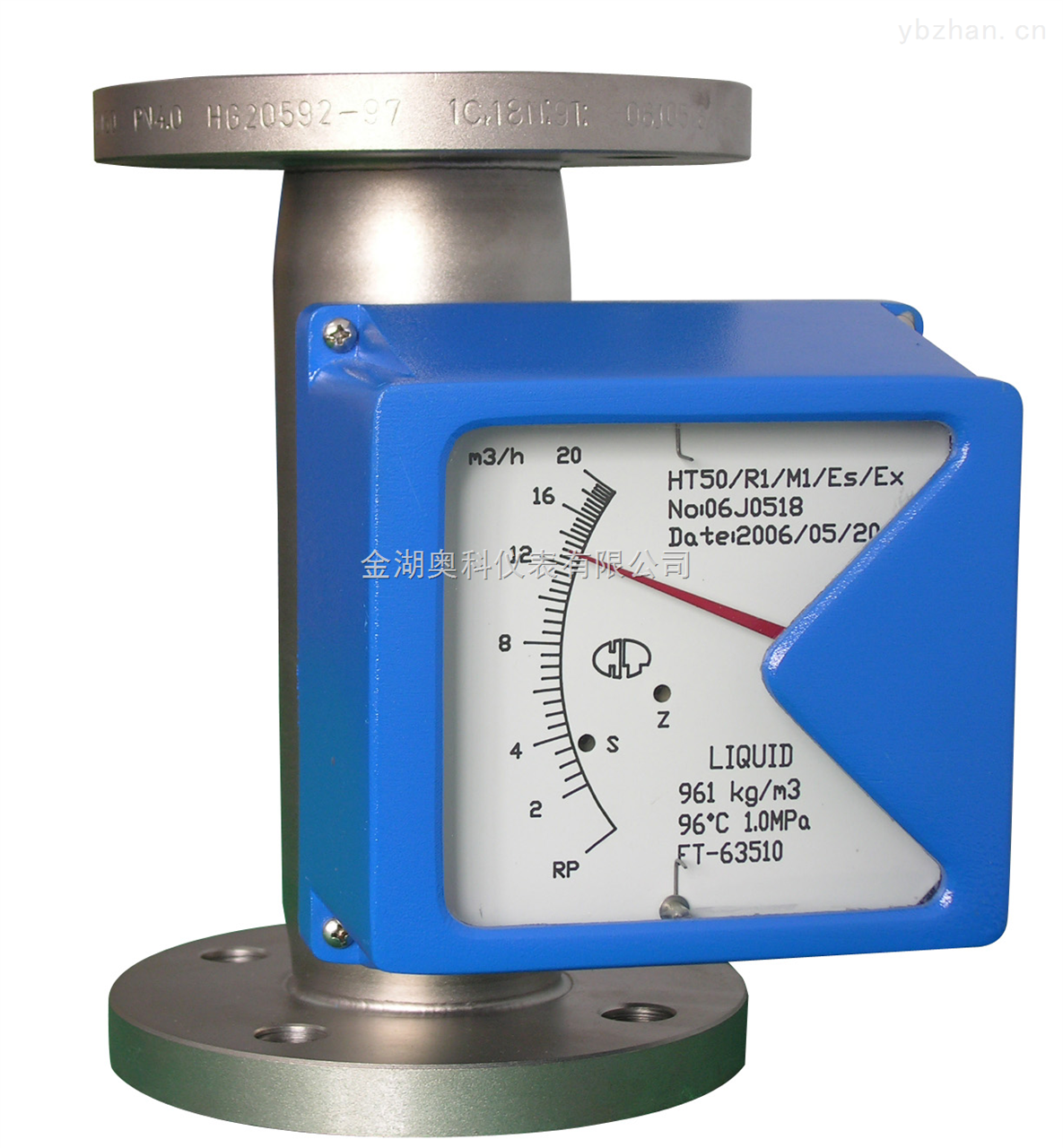 ak-lz系列 金属管浮子流量计结构简单,工作可靠,准确度高