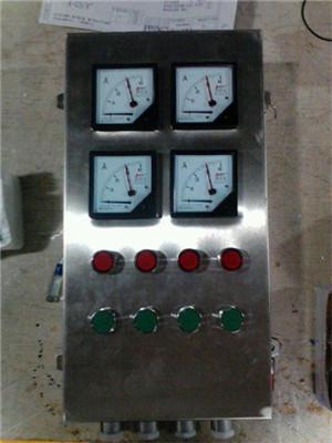三相电动机操作柱起动停止代指示灯接线图案