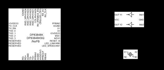 图4无源晶体做有源晶振典型应用电路