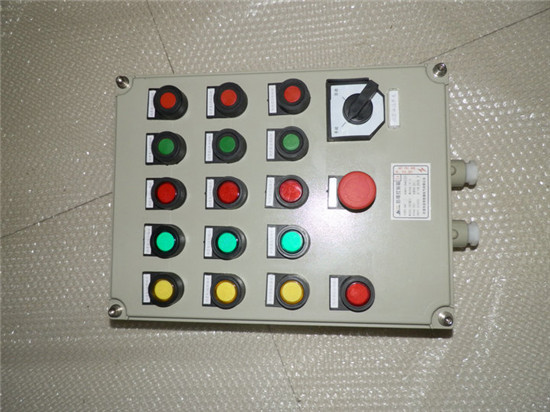 380防爆启动停止按钮接线图