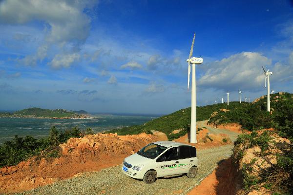 微电网,对我国东海,南海的开发岛屿的清洁环保电力供应的研究和开发