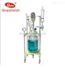 GR-100L长城科工贸双层玻璃反应釜厂家