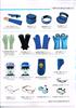 辐射防护面罩/防护手套/铅帽/铅围领/铅眼镜